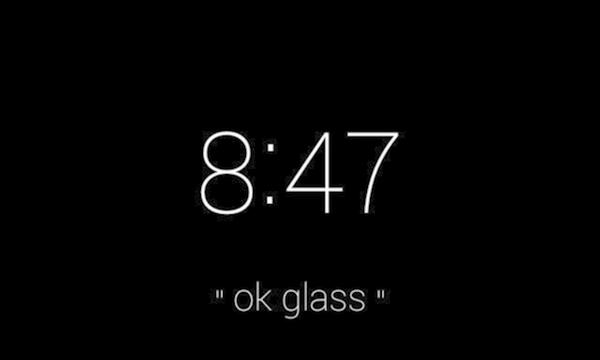 תמונה: Ok Glass. מקור: צילום מסך
